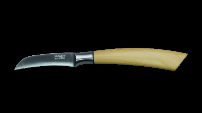 Saladini Collezione Cucina Tourniermesser Buchsbaum 7 cm