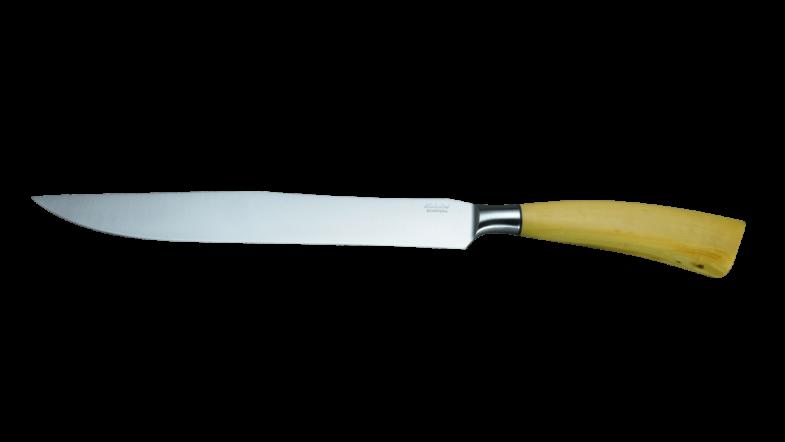 Saladini Collezione Cucina Tranchiermesser Buchsbaum 23 cm